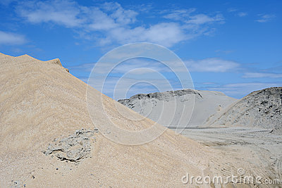 Sand mound