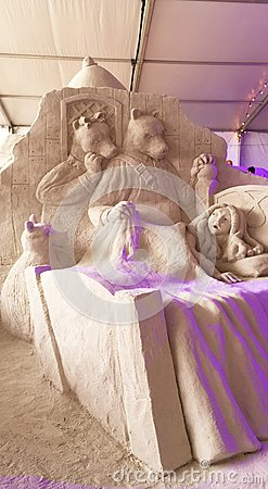 Free Sand Sculpture Fairy Tale Royalty Free Stock Photo - 68270365