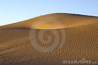 Sand structures in the Sahara