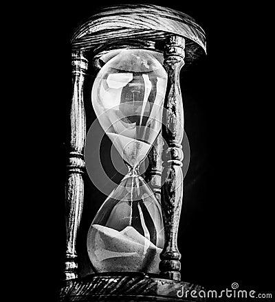 sand timer hour glass stock photo image 42397511