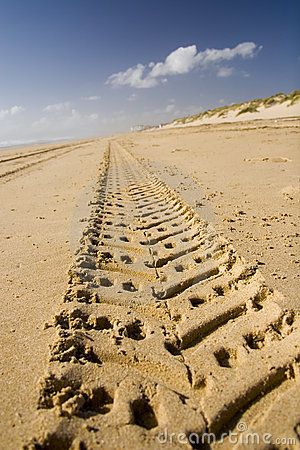 Free Sand Track Adventure 01 Stock Photos - 688403