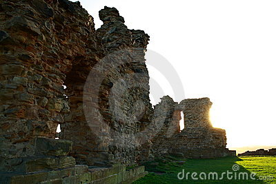Sandal castle in Wakefield
