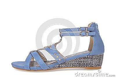 Sandal shoe for woman