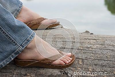 Sandaled Feet