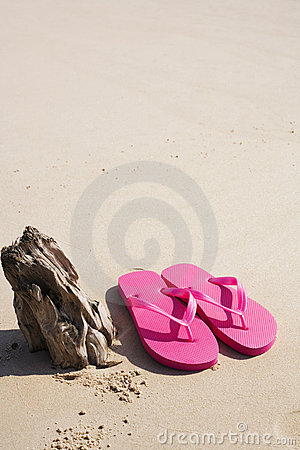 Sandals on the Shore