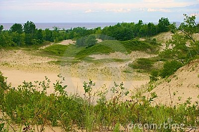 Sandbanks Panorama
