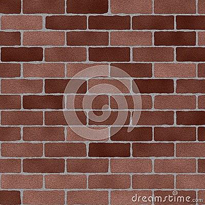 Sandblasted Brick Wall