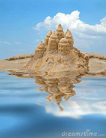 Free Sandcastle Royalty Free Stock Image - 10460516