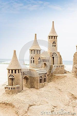Free Sandcastle Royalty Free Stock Photos - 65111208