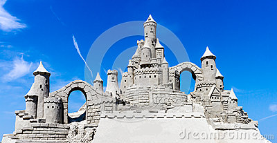 Sandcastle Blue Sky