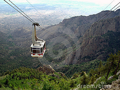 Sandia Mountain Cable Car