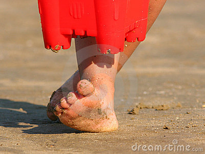 Sandiga toes