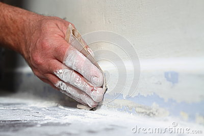 Sanding skirting board A