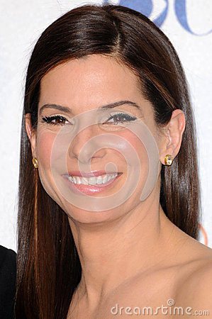 Sandra Bullock Editorial Stock Photo