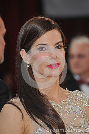 Sandra Bullock Editorial Photo