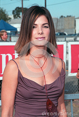 Sandra Bullock Editorial Stock Image