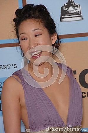 Sandra Oh Editorial Image
