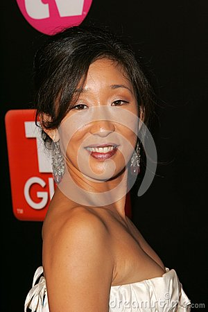 Sandra Oh Editorial Stock Photo
