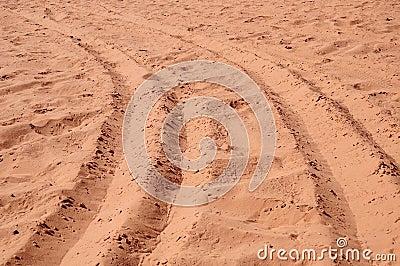 Sands of a desert