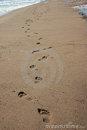 Sands odcisków stóp