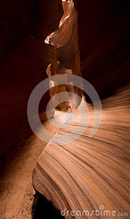 Sandstone of Antelope Canyon
