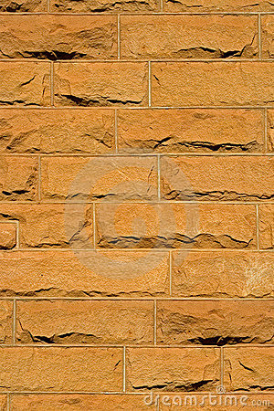 Sandstone brick background
