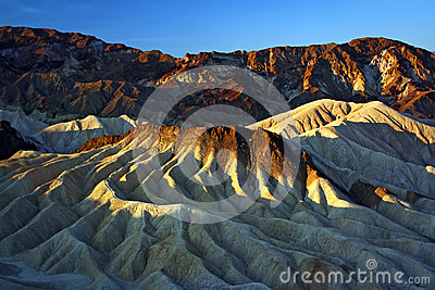 Sandstone Hills of Death Valley