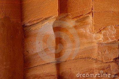 Sandstone petra jordan