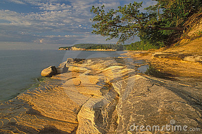 Sandstone Shoreline Lake Superior