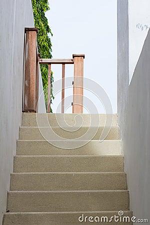 Sandstone stair