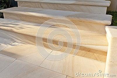 Sandstone Steps Detail