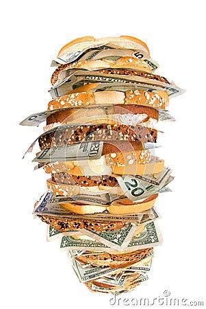 Sanduíche Do Dinheiro