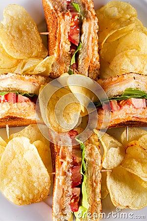 Sanduíches de clube
