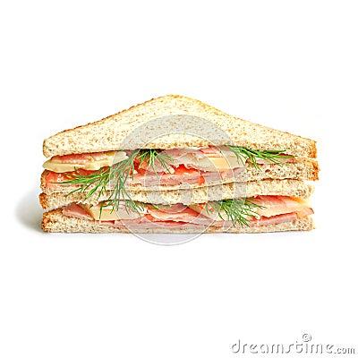 Free Sandwich Royalty Free Stock Photo - 12943245