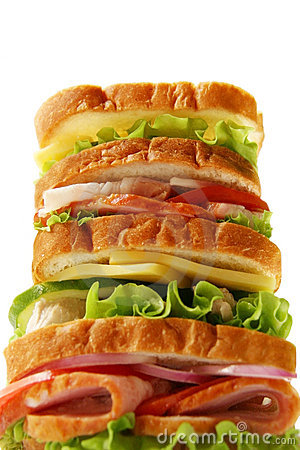 Free Sandwich. Stock Photography - 5252862