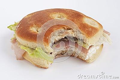 Sandwich bite