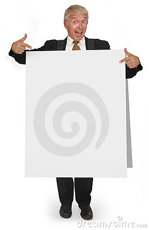 Sandwich board CEO