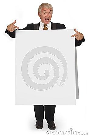 Free Sandwich Board CEO Stock Photos - 2997733