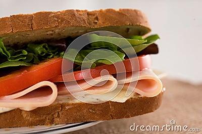 Sandwich chicken ham