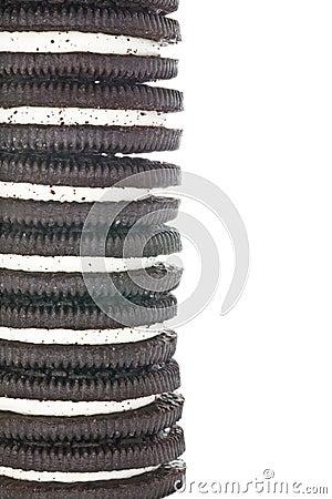 Free Sandwich Chocolate Cookies Stock Photo - 27867510