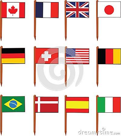 Sandwich Flags