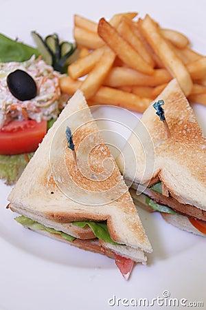 Sandwich food