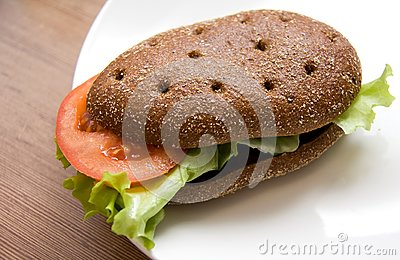 Sandwich with Freshness Vegetables
