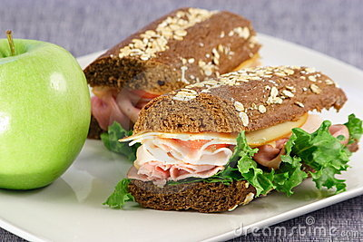 Sandwich healthy meal