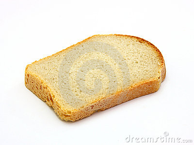 Sandwich without a thing with one bread