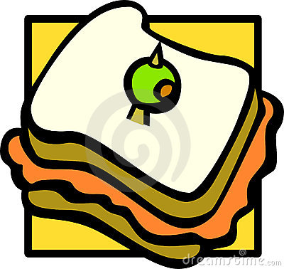 sandwich vector illustration