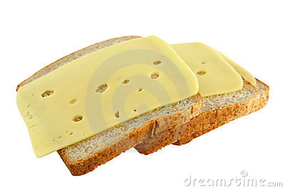 Sandwiches with cheese