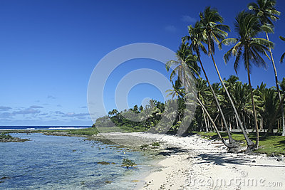 Sandy beach tropical siargao island philippines