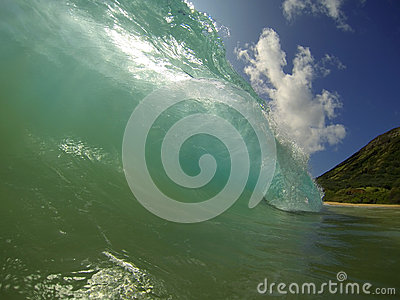 Sandy Beach Waves Hawaii