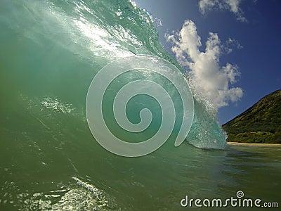 Sandy Beach Waves Hawaii